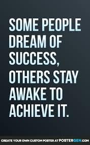 Success Posters Dream Of Success Print Motivational Posters Posters Postergen Com
