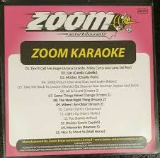 Karaoke Discs Zoom Pop Chart Picks Hits 2019 Part 7 15