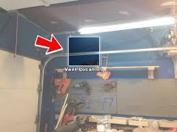 choosing a location for installing an exhaust fan in the garage tutorial