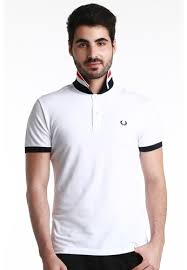 fred perry green label black and white and red striped undercollar white polo shirt fr595aa65wswmy 1