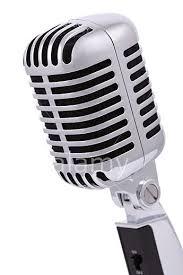 Resultado de imagen para Micrófonos antiguos