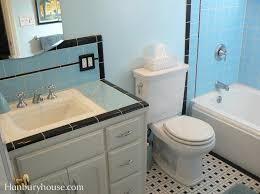 Retro Bathrooms Stunning The Retro Bathroom Remodel We Have Been Working On Kind Of Off And