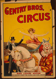 Image result for vintage circus posters