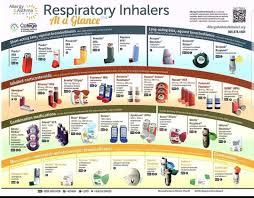 Inhalers At A Glance Pathophysiology Nursing Respiratory