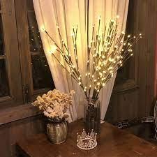 Combo nhánh cây 20 đèn led trang trí phòng ngủ bàn làm việc bàn học