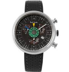 paul smith 531 stainless steel chronograph watch in black for men gallery