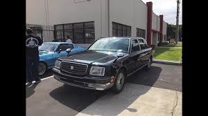 1997 Toyota Century V12 Limousine - YouTube