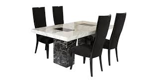 Marble Kitchen Table For Vienna Fixed Table And 4 Oslo Chairs Vienna Marble Dfs