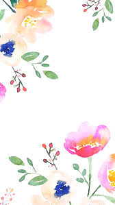 Watercolor Minimalist Wallpaper Iphone