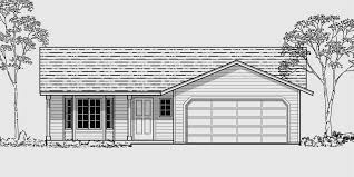 house front color elevation view for 9957 small house plans 2 bedroom house plans