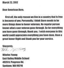 honoring veterans essay thank you letter to a veteran example  thank you letter to a veteran example thank you letter thank