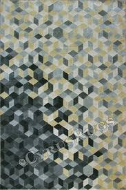 rizzy contemporary geometric rug 064 cotton silver image to close