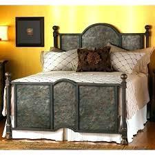 California King Metal Bed Frame Wrought Iron By Headboard Walmart ...
