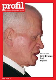 ... auf die Zukunft des Qualitätsjournalismus - in der großen profil-Jubiläumsausgabe am 06. September. Hans Hermann Groër darf da natürlich nicht fehlen. - 275364_i