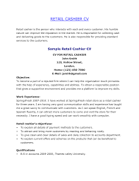 Resume For Grocery Store Cashier Clerk Cover Letter How Write Retail