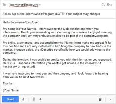 Sample Follow Up Email After Interview Status Letter Example Check