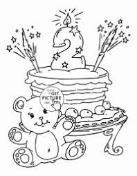 Coloring Pages Unicorn Cake Coloring Pages