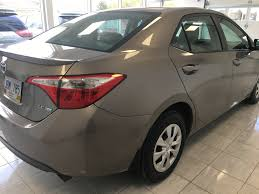 Used 2014 Toyota Corolla 4 Door Car in GrandFalls Windsor, NL 10 116A