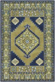 surya arabia ayda lime green navy blue area rug
