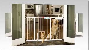 The Carlson Extra Wide Walk Through Gate With Pet Door Review or DIY ...