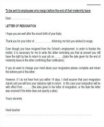 Job Resignation Letter Uk Good Sample Template Best How To Write A ...