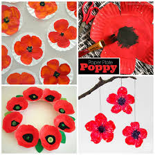 Make A Paper Poppy Flower Beautiful Red Poppy Crafts For Kids To Make Crafty Morning