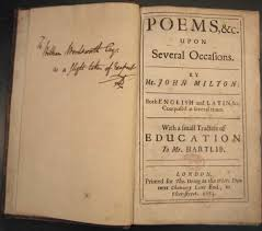 william wordsworth essay milton and the critics the reception of  milton and the critics the reception of paradise lost william wordsworth s copy of miltons poems