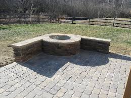 how to build a fire pit with pavers unique outdoor ideas home design kitchen for patio deck