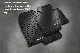 rubber floor mats. Wonderful Floor 2017 2018 Mazda CX5 All Weather Floor Mats Set Of 4 00008BR21 On Rubber