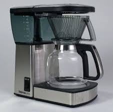 bonavita glass carafe the spray head completely saturates coffee grounds and produces an ideal extraction this