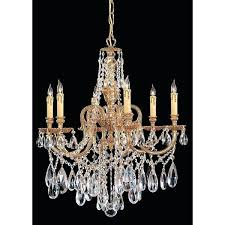 brass and crystal chandeliers novella collection 6 light brass crystal chandelier antique brass and crystal chandeliers