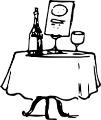 table clipart black and white. clipart. table clipart black and white a
