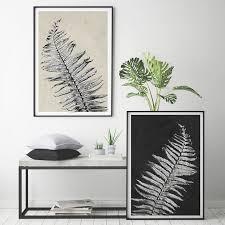 botanical prints set of 2 prints minimalist prints large wall art black on botanical wall art set of 2 with botanical prints set of 2 prints minimalist prints large wall