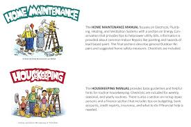 WITH THE ENTERTAINING AND EASY TO READ HOUSEKEEPING + HOME MAINTENANCE  MANUALS.