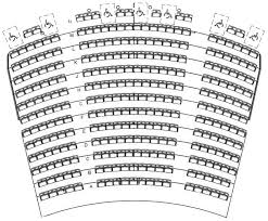 Chicago First Lady Seating Chart Freedom Hall Seating Chart Nathan Manilow Theatre Seating