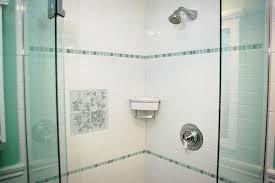 shower tile accent border height