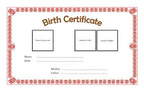 dog birth certificates pet birth certificate templates best 10 templates