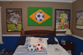 Ideas  Soccer Bedroom Decor In Charming Bedroom Expansive Wall Soccer Bedroom Decor