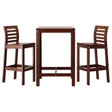 ikea retro furniture. Top 60 Great Outside Bar Stools Outdoor Dining Furniture Ikea ApplarO Table And Brown Stained Exterior Aluminum Retro Counter Height Chairs Industrial With O