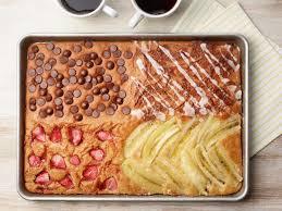 sheet pan cake recipe four flavor sheet pan pancakes recipe food network kitchen food
