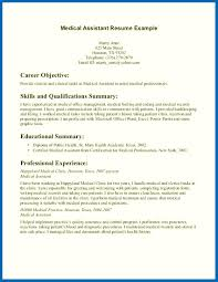 Certified Medical Assistant Resume Sample resumes examples for medical assistant Tierbrianhenryco 59