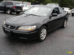 2001 Nighthawk Black Pearl Honda Accord EX V6 Coupe #34581287 ...