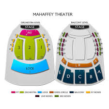 Mahaffey Seating Chart Duke Energy Center Mahaffey Theater Tickets