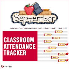 Attendence Tracker Create A Fun Attendance Tracker For Your Classroom Velcro