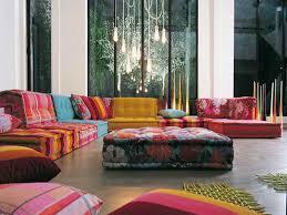 modular floor pillow motif Quecasita