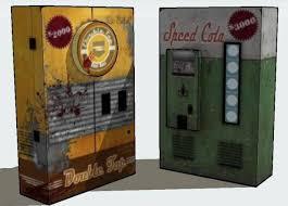Papercraft Vending Machine Extraordinary Call Of Duty Black Ops 48 Vending Machine Paper Models Free