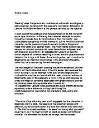 Narrative Essay Presentation AME