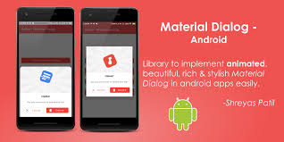 Material Design Button Android Github Animated Material Dialog Android