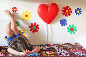 flower power wall decals in room 2 babble