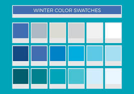 Blue Color Swatch Chart Color Swatches Free Vector Art 57 579 Free Downloads